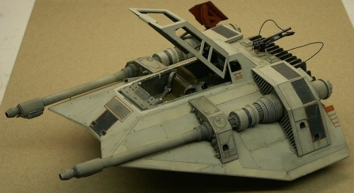 SnowSpeeder Model 003