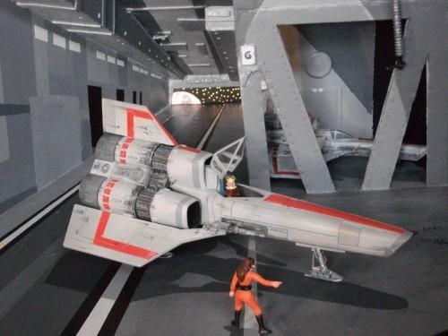 Galactica landing bay 007