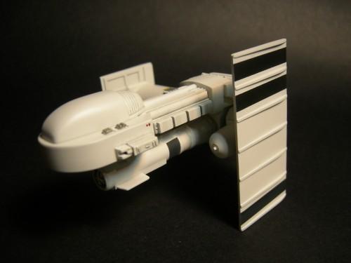white ship left front high