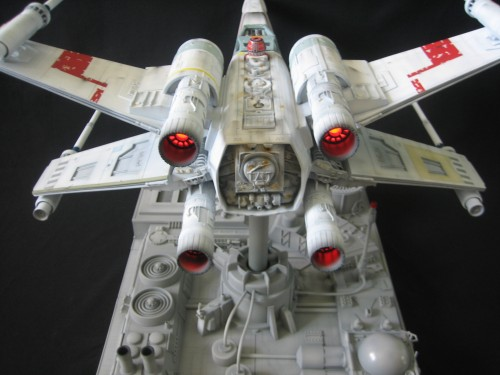 XWing Rear Engine Lights