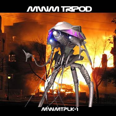 Martian War Machine Tripod 1