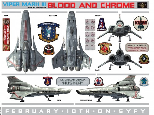 Blood Chrome Viper Mark 3