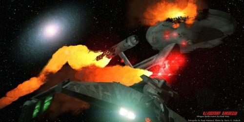 Enterprise on Fire