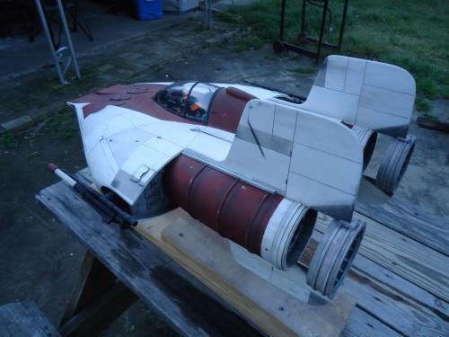 A wing fighter backyard shots 022