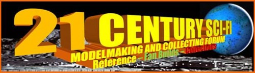 Darren Peters - 21 Century Sci-Fi Modelmaking and Collecting