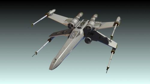 X-Wing Model - Open_1