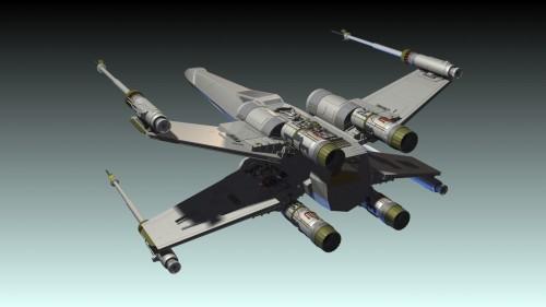 X-Wing Model - Open_2