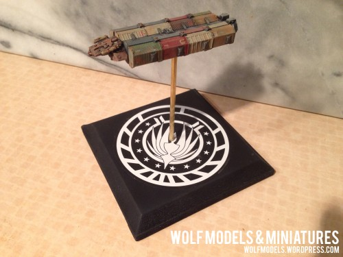 Gemini Freighter by Wolfs Models and Miniatures 58
