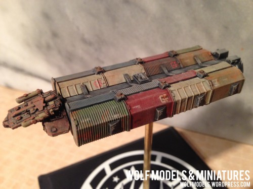 Gemini Freighter by Wolfs Models and Miniatures 59
