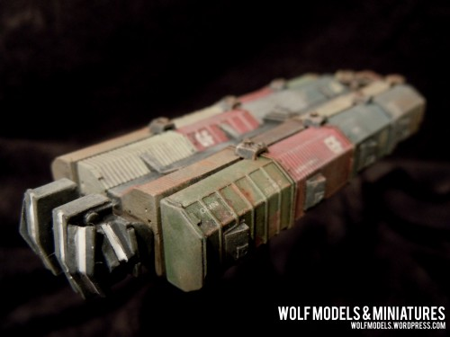 Gemini Freighter by Wolfs Models and Miniatures202
