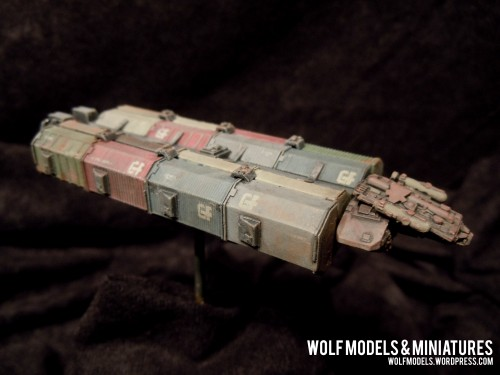Gemini Freighter by Wolfs Models and Miniatures203