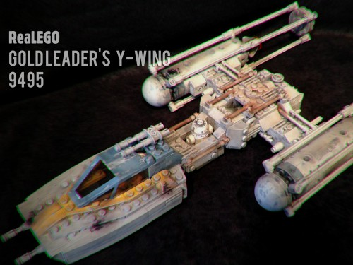 ReaLEGO Y Wing by Wolf Models & Miniatures