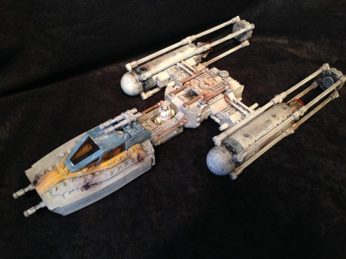 ReaLEGO Y Wing by Wolf Models and Miniatures