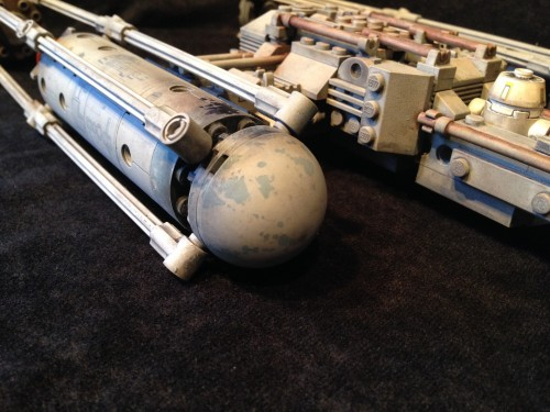 ReaLEGO Y Wing by Wolf Models and Miniatures 52