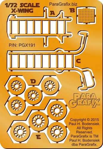 PGX191_72scale-Xwing_From-ParaGrafix