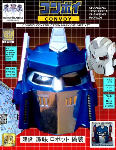 convoy construction kit mask-helmet BOX