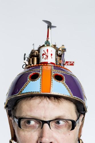 Harry Arling met Florence helm