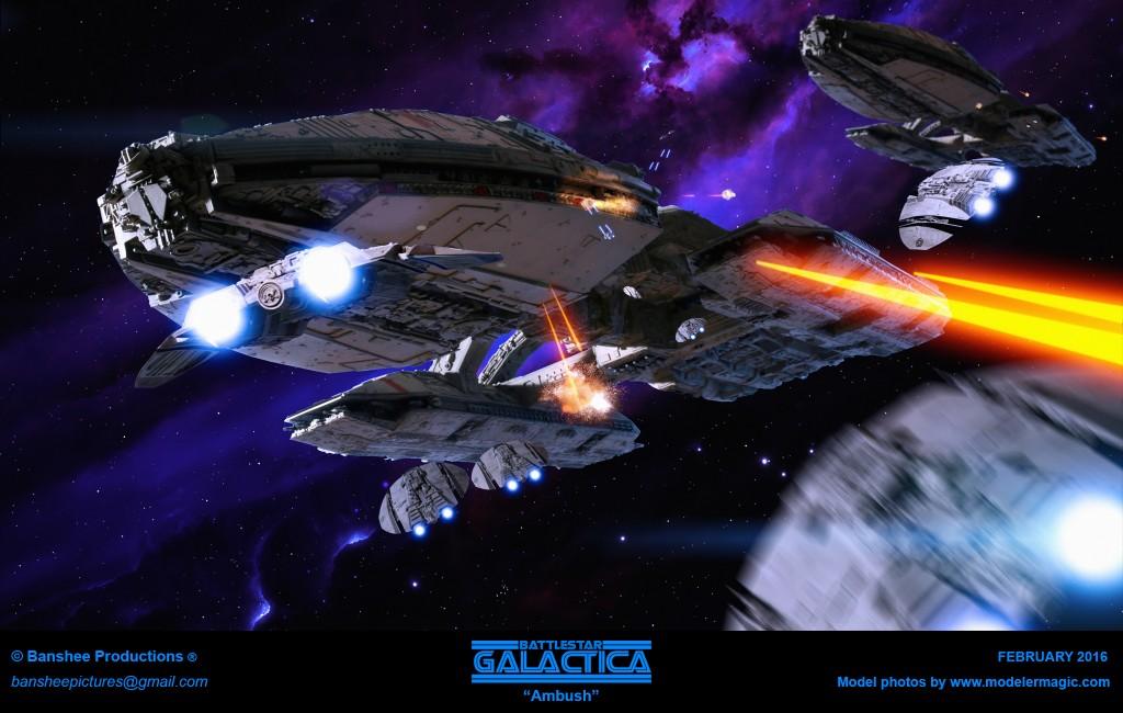 Battlestar Galactica - Ambush